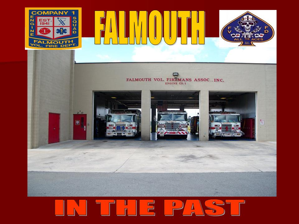 Falmouth Volunteer Fire Department Stafford County Va