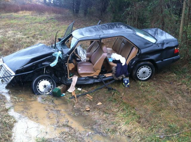 Engine And Rescue 1 Run One Trapped On I-95 - Falmouth Volunteer